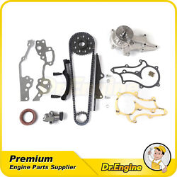 Timing Chain Water Pump Kit Fit 85-95 Toyota Celica Pickup 4runner 2.4l 22r 22re