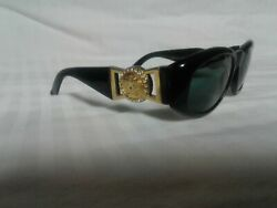 Gianni Versace Sunglasses MOD 424C RH 852 BK Made In Italy with case