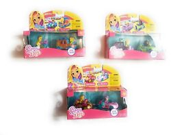 Nickelodeon Sunny Day Die Cast Vehicles Bundle 3 Pack Toys Cars