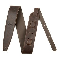 Fender Strap Artisan Crafted Leather 2.5andrdquo Brown