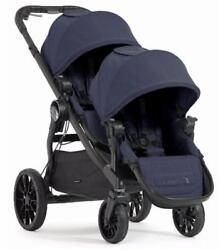 Baby Jogger City Select Lux Double Stroller In Indigo New