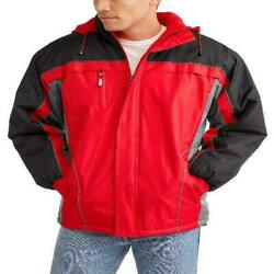 Climate Concepts Men's and Men's Big Polar Tech Fleece Lined Jacket with Removab