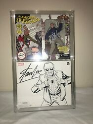 2007 Hasbro Marvel Legends Sdcc Exclusive Signed By Stan Lee Afa 90 Autograph