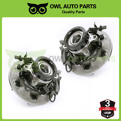 2 Front Wheel Bearing And Hub Assembly 2004 - 2008 Chevy Colorado Gmc Canyon 4x4