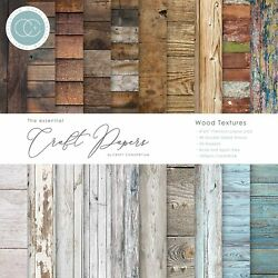 Craft Consortium Double-sided Paper Pad 12x12 30/pkg-wood Textures 20 Designs