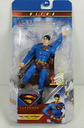 Superman Returns Ultra Flight Force Superman 8in Action Figure DC Mattel MOC