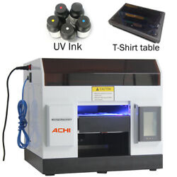 A4uv Printer 6color Epson L800 Head For Phone Case Metal Glass And T Shirt Table