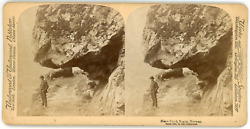 Stereo, Norvège, Norway, Norge, Naerofjord, Sogne, 1894 Vintage Stereo Card - Un