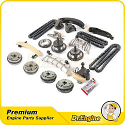 Timing Chain Kit W/ Camshaft Cam Gears Fit 06-17 Gmc Buick Chevy Cadillac 3.6l