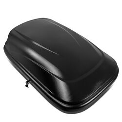 53l Car Van Suv Roof Top Cargo Storage Box Case Luggage Carrier W/ Lock And Key