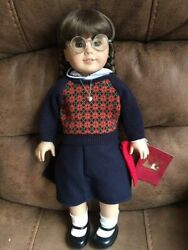Retired American Girl 18 Inch Molly Doll, With Meet Outfit