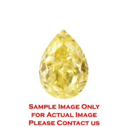 25.18ct Natural Pear Loose Diamond GIA Certified Fancy YellowVVS2 (2175663403)
