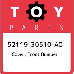 52119-30510-a0 Toyota Cover Front Bumper 5211930510a0 New Genuine Oem Part