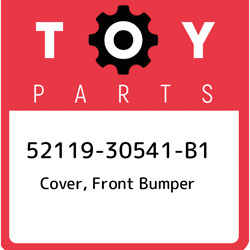 52119-30541-b1 Toyota Cover Front Bumper 5211930541b1 New Genuine Oem Part