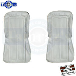 1964 Grand Prix And Parisienne Sport Front And Rear Seat Covers Upholstery Pui New