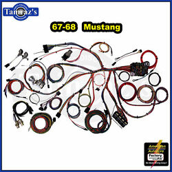67-68 Mustang Classic Update Series Complete Body And Interior Wiring Harness Kit