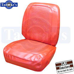 1964 1965 Barracuda Fastback Front And Rear Seat Covers Upholstery - Bright Red