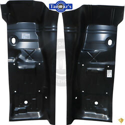 70-74 Floor Pan Front To Rear 1/2 Section Full Toe Board And 1/2 Trans Tunnel Pair