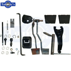 64-66 Chevelle 4 Speed Conversion Kit Clutch Linkage Pedal Fork Rod Hardware