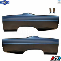 67 Fairlane Fastback Oe Style Rear Quarter Panel Ford Licensed Product - Amd Pr