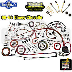68-69 El Cam Classic Update Series Complete Body And Interior Wiring Harness Kit