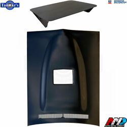 71-74 Dodge Charger Ramcharger Air Induction Steel Hood With Scoop - Amd
