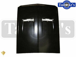 67-68 Mustang Hood With Turn Signal Lamp Holes - Golden Star