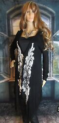 Vocal Open Front Embellished Duster Tunic. Size Medium. So Cute.