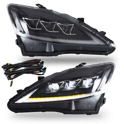 Full Led Projector Headlights For 2006-2013 Lexus Is250 Is350 Is F