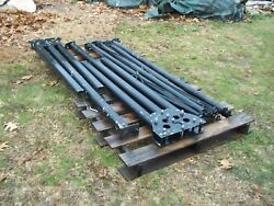 Us Military Surplus Mgpts Center --pole Set Only No Tent-- Hunting Camping Army