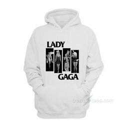 Black Flag Parody Lady Gaga Hoodie For Women's Or Men's NEW ALL SIZE