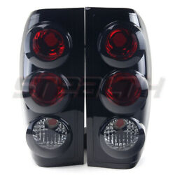 For 98-04 Nissan Frontier Oe Style Fit Lamp Tail Lights Altezza Black Smoke