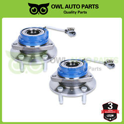 Front Wheel Bearing And Hub W/abs For 2002 2003 2004 2005 Chevy Venture Awd Fwd