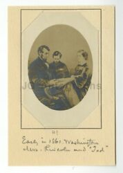 Abraham Lincoln - Frederick Hill Meserve Collection Vintage Silver Print Photo