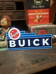 Buick Dealer Sign Automobile Engine Drive Vehicle Hot Rod Gas Oil Speed Drag