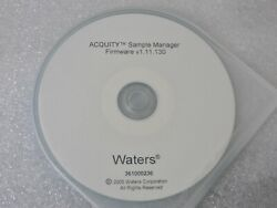 Waters 361000236 Acquity Uplc Sample Manager Firmware V1.11.130 Software Dvd