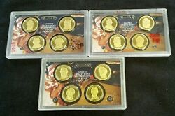 2008,2009,and 2010 Us Presidential 1 Proof Sets No Ogp. Reduced 7/21/21 8644