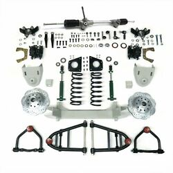 1947-1954 Chevy Pickup Truck Mustang Ii Complete Front End Suspension Ifs Kit Ak