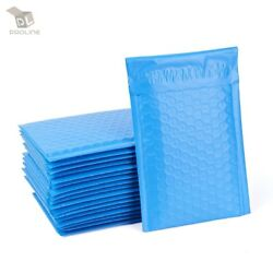 Proline 1000 0 Extra Wide Cd Dvd Blue Poly Bubble Mailers Envelopes Bags 6.5x10