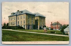 Geneva Ny State Experimental Station Dairy Building Antique Postcard