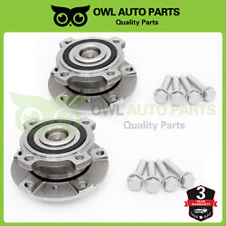 Front Wheel Bearing And Hub Left And Right Set Of 2 For Bmw 5 Series Z8 E39 513172