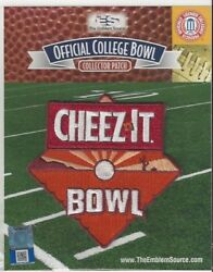 2019 Cheez-it Cheezit Bowl Patch Washington State Air Force Offical Jersey Logo