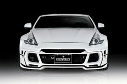 Front Bumper With Leds For The Nissan 370z By Rowen