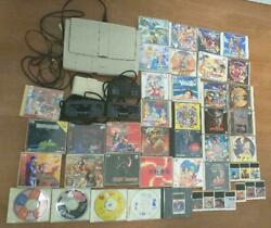 Huge Lot Pc Engine Soft Set And Body