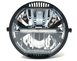 Homologated Led Motorcycle Headlight 7 Project Custom Cafe Racer Streetfighter