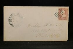 Maryland Sandy Spring 1860s 65 Cover Quaker Dated Double Ring Cds