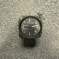 Rate Of Climb Vertical Velocity Indicator Single Scale Hydraulics Intl. Aircraft