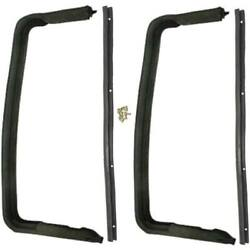 1955-1956 Ford And Mercury Station Wagon 2 And 4dr Sedan Vent Window Seal Kit