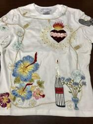 Rare Super Greek Christian Dior 2002 Limited Embroidery Gorgeous T-shirt Size L