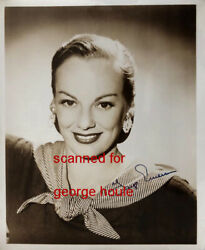 Faye Emerson - Photograph - Signed - First Lady Of Television - Fdr